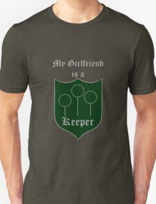My Girlfriend is a Keeper - Slytherin T-Shirt
