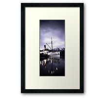 """TSS Earnslaw"" - Queenstown  Framed Print"