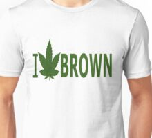 I Love Brown Unisex T-Shirt