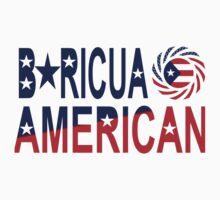 Boricua American Multinational Patriot 1.0 Kids Clothes