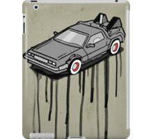 Delorean Drip iPad Case/Skin