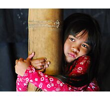 Balinese girl Photographic Print
