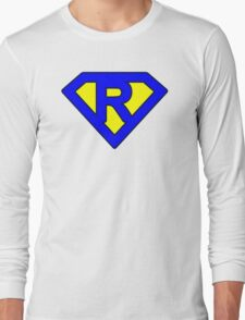 R letter Long Sleeve T-Shirt