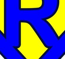 R letter Sticker