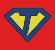 T letter Kids Clothes