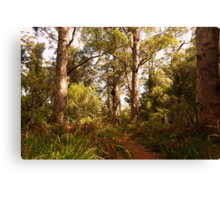Walking through the valley of Giants Canvas Print