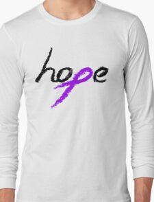 Hope - Epilepsy Awareness Long Sleeve T-Shirt