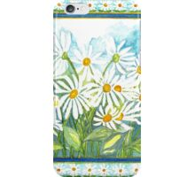 IN LOVE WITH DAISIES - CHEERFUL WHITE BEAUTIES iPhone Case/Skin
