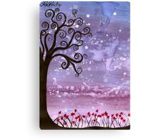 Firefly Tree Canvas Print