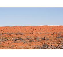 Desert dunes... Photographic Print
