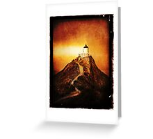 Keeper Of The Light Greeting Card