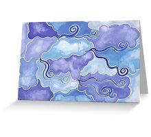 Elements - air Greeting Card