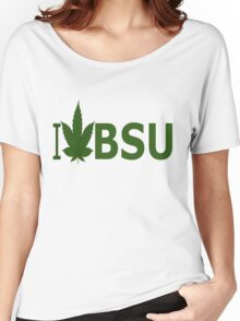 I Love BSU Women's Relaxed Fit T-Shirt