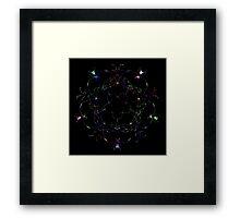 """"""" Black Pearl """" by Joe Digital Framed Print"""
