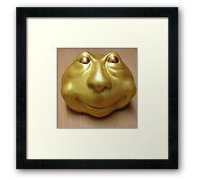 Golden God Thomas Framed Print