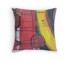 Outback travels and trails Throw Pillow