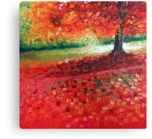 """Landscape VII - 6x6"""" oil painting Canvas Print"""