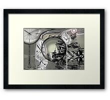 Climate ghosts of industrial mistakes past   Framed Print