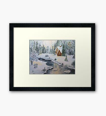 Silent Stream Framed Print