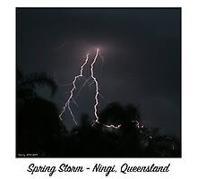 Spring Storm - Ningi, Queensland Photographic Print