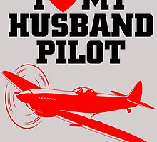 I LOVE MY HUSBAND PILOT by fancytees