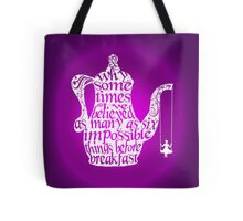 Impossible Things - White Tote Bag