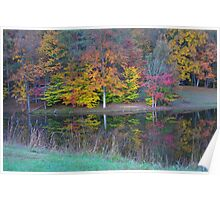 Fall Trees - Brown County State Park Poster