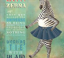 Zeffi the Zebra by NareldaJoy