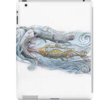 Nautilus v Sperm Whale iPad Case/Skin