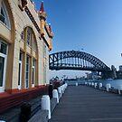Luna Park, Twilight in Spring, Sydney 2009 by Gayan Benedict
