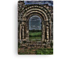 Haughmond Abbey Near Shrewsbury Shropshire Canvas Print