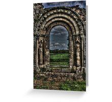 Haughmond Abbey Near Shrewsbury Shropshire Greeting Card