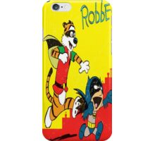 Batmin and hobbes iPhone Case/Skin