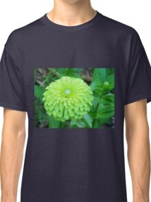 Lime Color Flower Classic T-Shirt