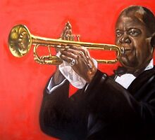 Louis Armstrong  by Hidemi Tada