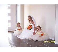White Wedding Photographic Print