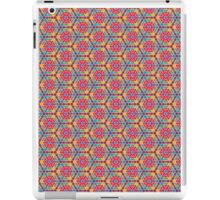 Fresh Summer Triangle Hexagon Pattern iPad Case/Skin