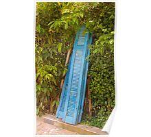 Greek Doors Poster