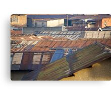 Gulu roofs Canvas Print