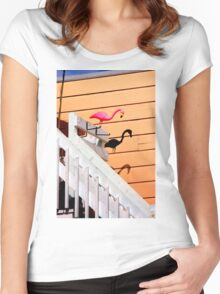 The Shadows Know For Sure Women's Fitted Scoop T-Shirt