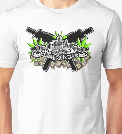 City of Los Angeles Official Gangster Unisex T-Shirt
