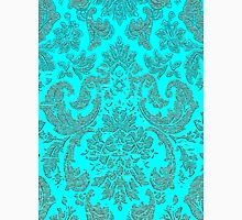 Tiffany Blue Paisley Monochromatic  Unisex T-Shirt