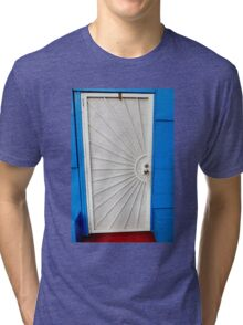 Red White And Blue Tri-blend T-Shirt
