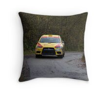 wales rally gb. Throw Pillow