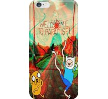 Adventure time Welcom to Paradise iPhone Case/Skin
