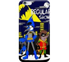 Batman And RObin Mordecai And Rigby iPhone Case/Skin
