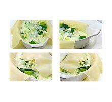 Lasagne Verde Photographic Print