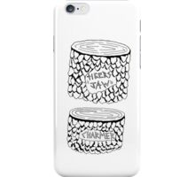 """Tigers Jaw """"Woodwork"""" iPhone Case/Skin"""
