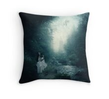 You're Gone...and I'm Haunted... Throw Pillow