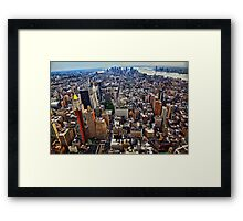 Manhattan Island Framed Print